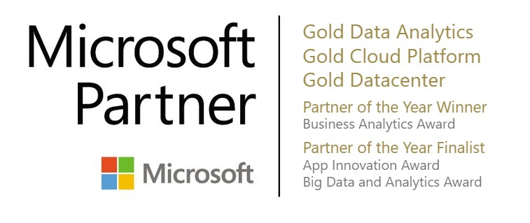 Microsoft gold competencies and partner of the year awards