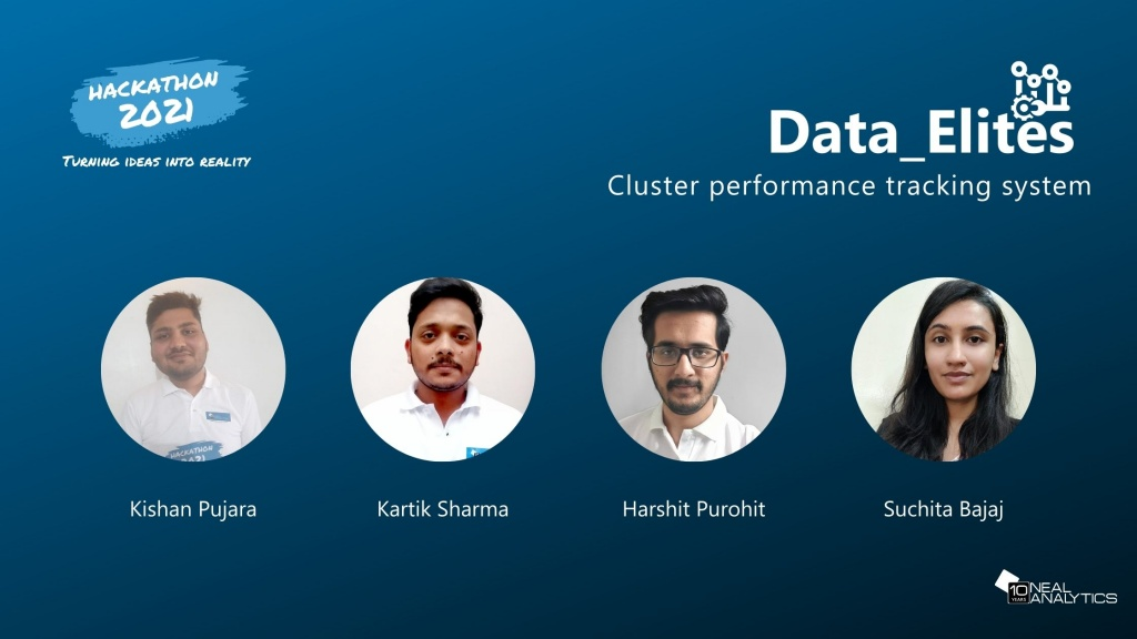 Cluster performance tracking system