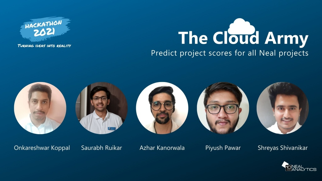 Predict project scores for all Neal projects
