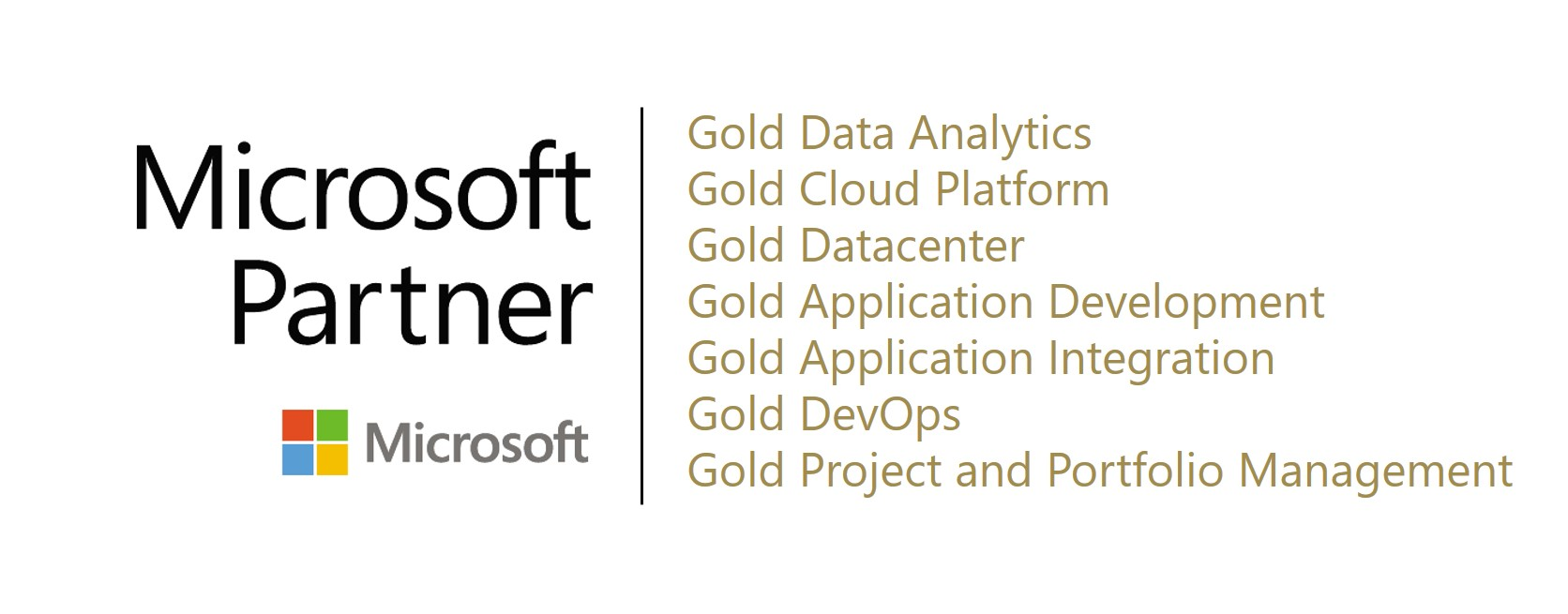 MSFT gold competencies 2021
