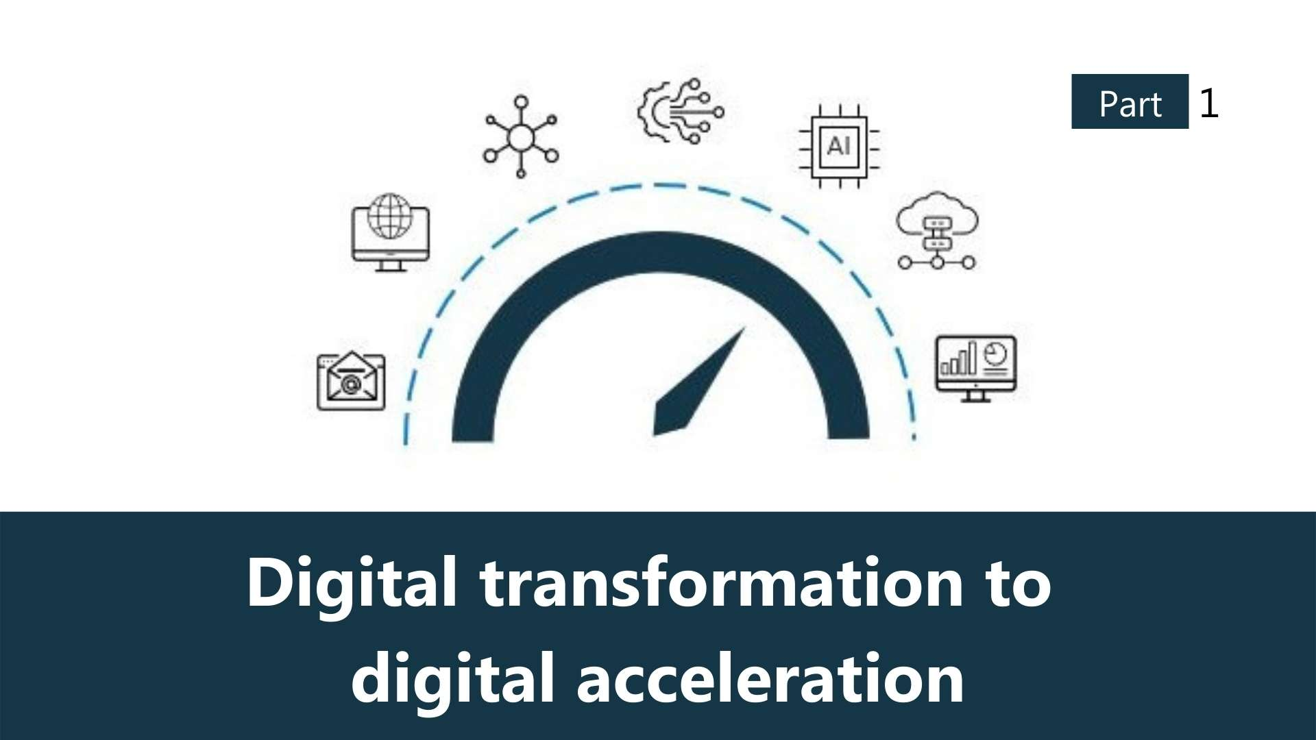 Transitioning from digital transformation to digital acceleration: What history teaches us.